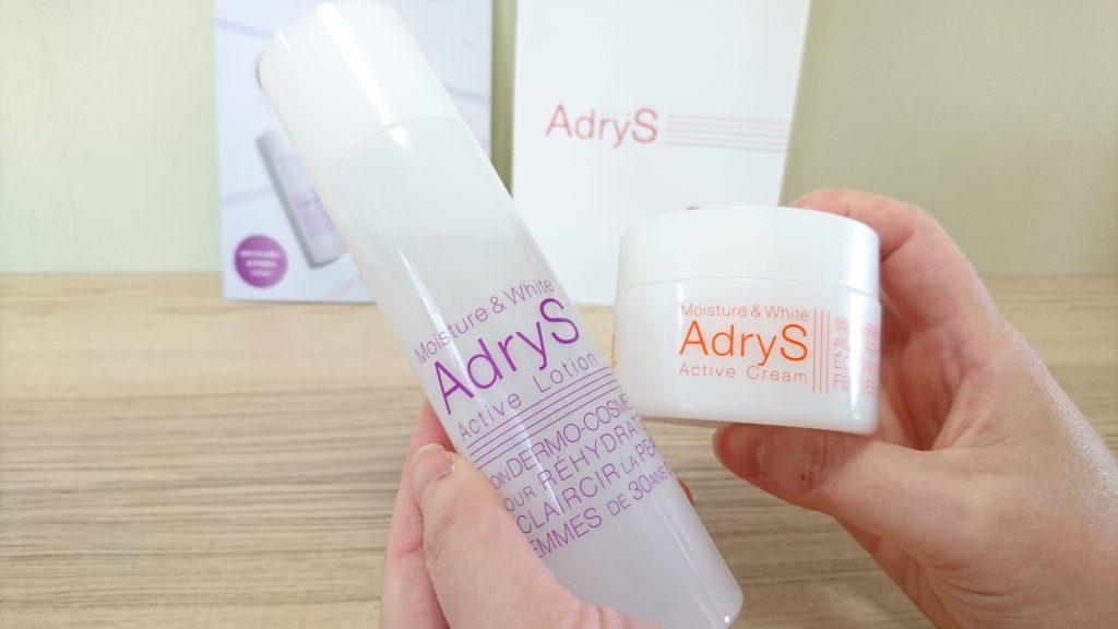 大正製薬アドライズadrysの化粧水とクリーム